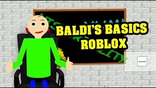 Baldis Basics 3d Morph Rp Baldis Basics In Education And Learning 3d Roblox Map 2 - Baldi S Basics Roblox Playtime Camp Update Roleplay Baldi S