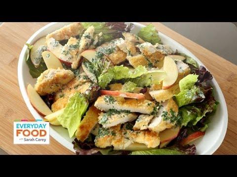 Crispy Chicken and Apple Salad - Everyday Food with Sarah Carey