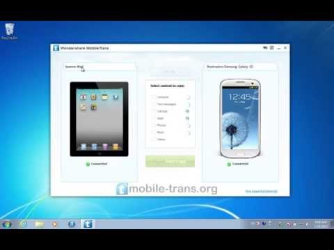 How to Sync iPad with Galaxy S3 / S4/ S5/ S6 & Transfer Videos from iPad Air to Samsung Galaxy S3