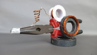 How to make free energy device using magnets - DIY life hacks at home 2018