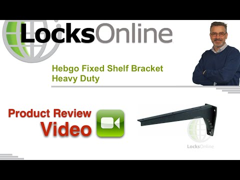 Hebgo Fixed Shelf Bracket Heavy Duty    LocksOnline Product Reviews