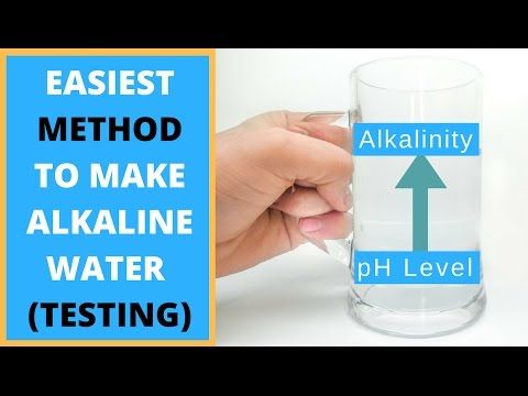 HOW TO TEST WATER PH AT HOME | THE EASIEST WAY TO MAKE ALKALINE WATER AT HOME