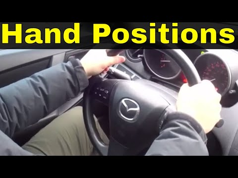 Steering Wheel Hand Positions-Beginner Driving Lesson