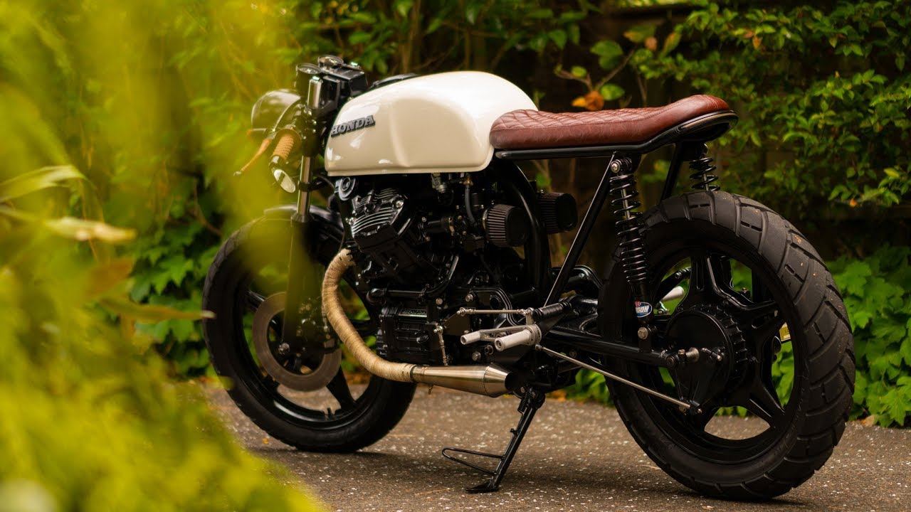 2 years on   CX500 Cafe Racer