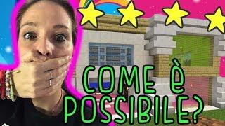 FINALMENTE!! la mia VERA e BELLISSIMA casa su Minecraft!!!