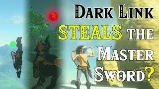 Download Dark Link STEALS the Master Sword? ..VS ????.. in Zelda Breath of the Wild (Four Links Adventures) Video