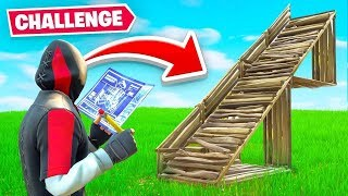 Half Builds *ONLY* CHALLENGE In Fortnite (very dumb)