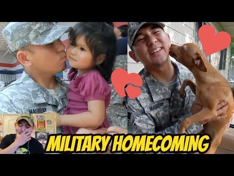 Deployed Soldiers Coming Home Most Emotional Compilations - SOLDIER REACTS