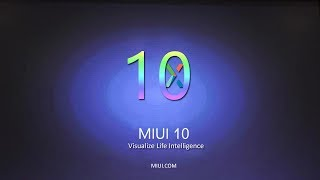 Install miui 9 official bootanimation # without root