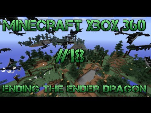 Minecraft Xbox 360 - Ending The Ender Dragon - #18 Brewing Stand, Cauldron