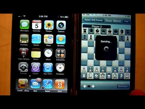 iPhone multiplayer test: Chess with Friends (Free)