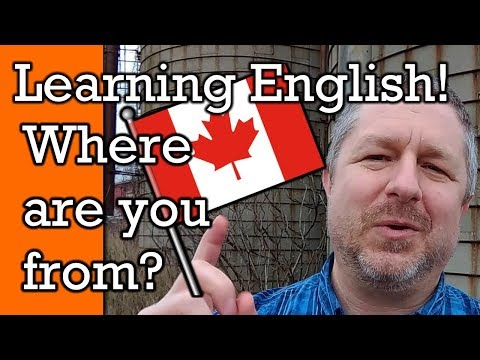 What Country Are You From? | Tell Me in the Comments Below | A Learn English Video with Subtitles
