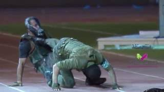 عرض قتالي  رااائع للكابتن عماد المالكي امام ولي العهد
