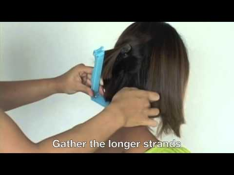 How to cut A line Bob hairstyle  Cut your own hair at home