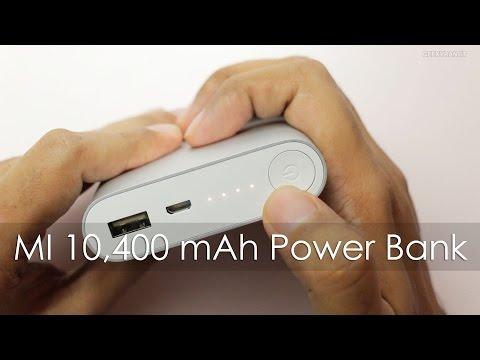 Xiaomi 10,400 mAh Power Bank Unboxing