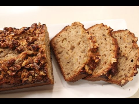 Apple Banana Pecan Nut Loaf | Baking recipes | Sanjeev Kapoor Khazana