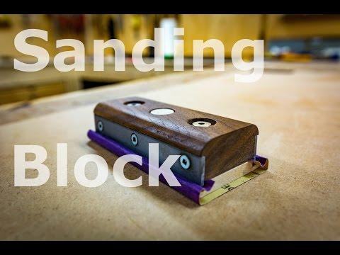 Slightly ridiculous sanding block