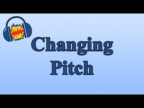 How to Change the Pitch of a Song with Audacity
