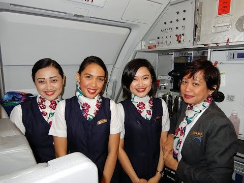 Flying Philippine Air from Tokyo Narita to Cebu Mactan International