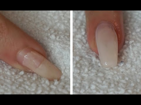 HOW TO SAVE AN ACRYLIC NAIL FROM BREAKING