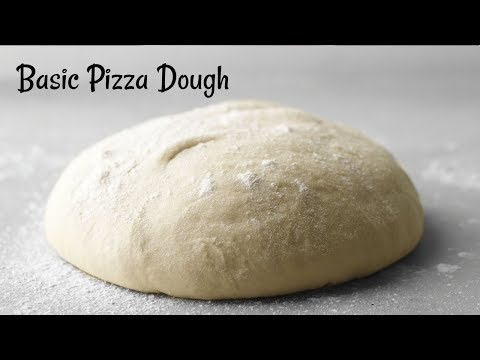 Perfect Pizza Dough Recipe | Basic Pizza Dough Recipe | Quick & Easy Homemade Pizza dough