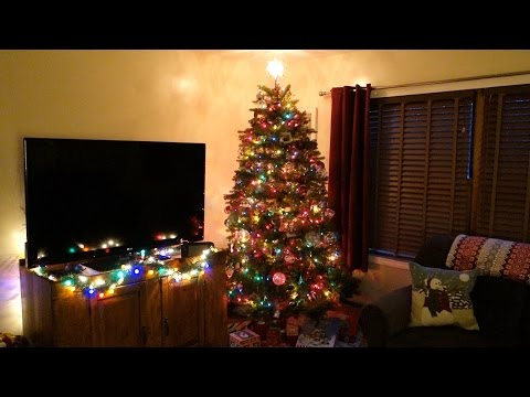 National Tree Dunhill Fir Hinged Artificial Christmas Tree Vlog