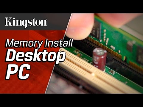 How to Install Memory in Your Desktop PC