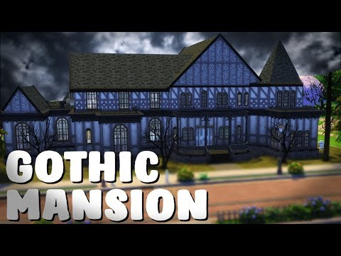 Gothic Mansion - Sims 4 Speed Build