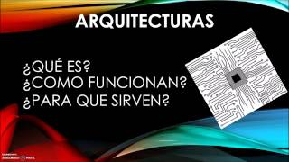 Video tutorial Arquitectura Von Neuman y Harvard