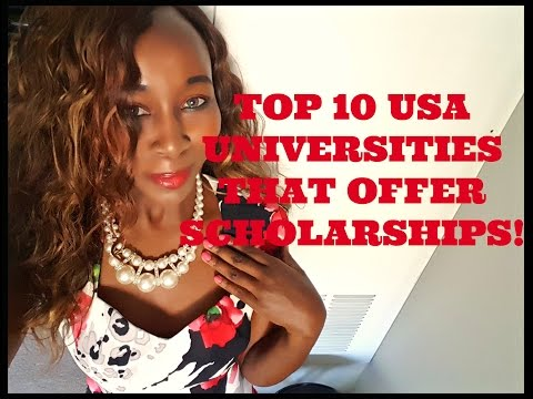 Top 10 USA Universities That Offer Scholarships!