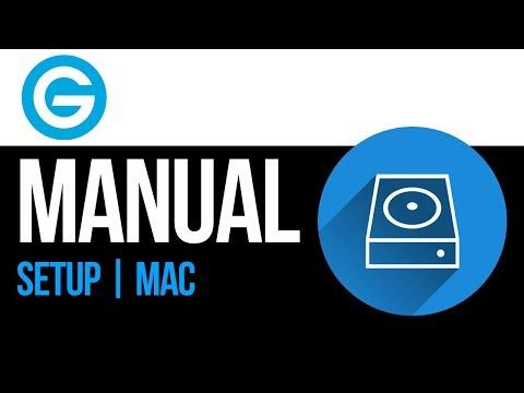 G-Drive external hard drive Set Up Guide for Mac 2019
