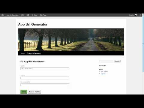 App Url Generator Demo