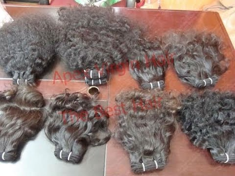 Virgin Remy Brazilian Indian Human Hair Extensions Wholesale Factory