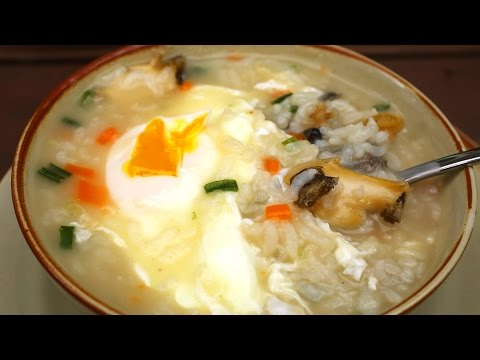 Abalone porridge (Jeonbokjuk: 전복죽)