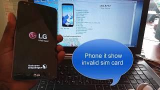 LG Sprint LS755 Unlock By Z3X Box | Music Jinni