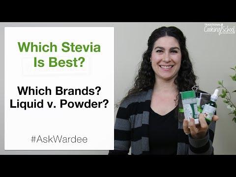 Which Stevia Is Best? Brands? Liquid v  Powder? | #AskWardee 107