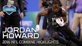 Jordan Howard (UAB & Indiana, RB)   2016 NFL Combine Highlights