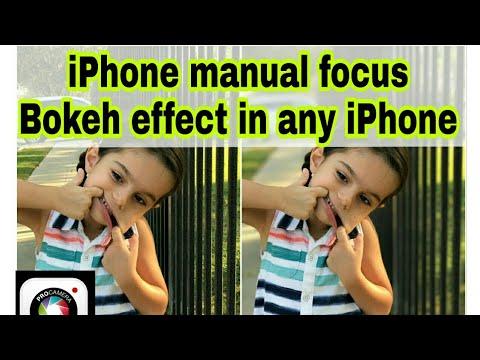 Best manual camera app for iphone || iphone manual focus