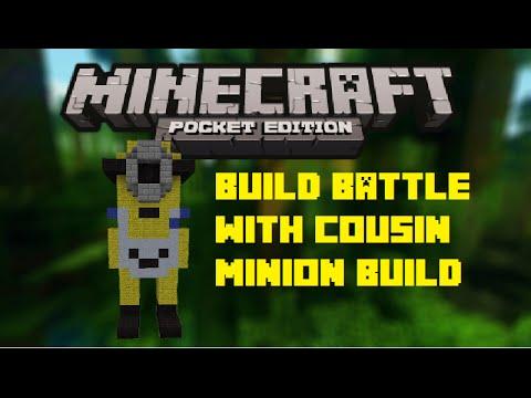 Minecraft PE | Build Battle Minion