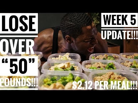 The Perfect Diet For Losing Weight!!! Lose Over 50lbs!!! Week #5 Update