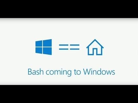 Installing Ubuntu BASH terminal on Microsoft Windows 10
