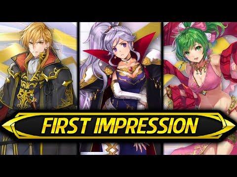 Fire Emblem Heroes - ARES, ISHTAR & LENE First Impression! (Genealogy Banner)