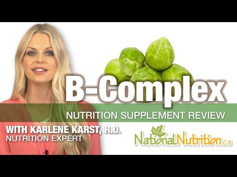 Professional Supplement Review – Vitamin B Complex