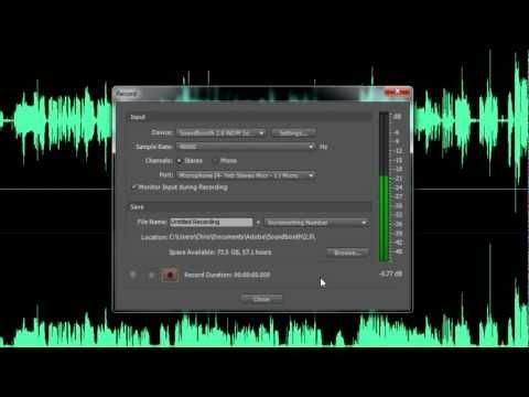 Speech Jammer using Adobe SoundBooth