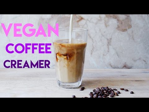 Homemade vegan coffee creamer 3 ways // MoreSaltPlease