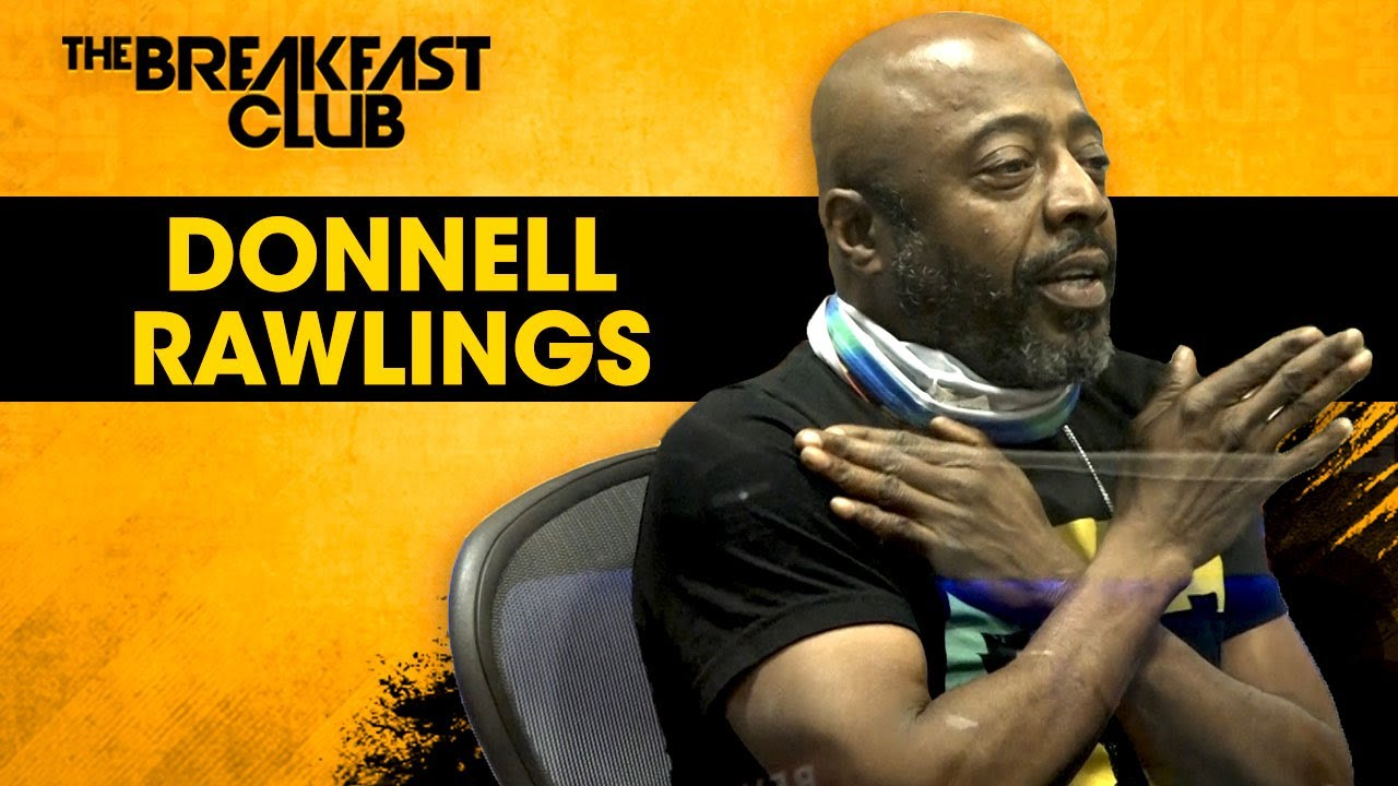 Donnell Rawlings Prays For Serenity & Unpacks The Root Of His Sensitivity