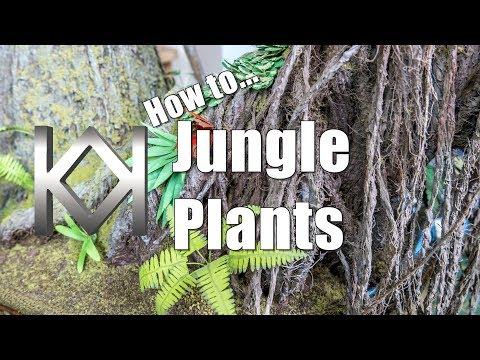 Halo Diorama - Jungle Plants