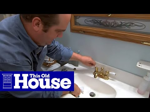 How to Replace a Faucet Aerator - This Old House