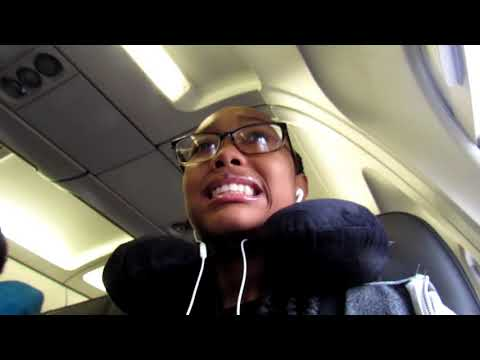 MY FIRST TIME GETTING ON A PLANE!! (to orlando florida)