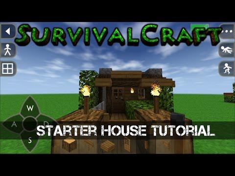 Survivalcraft Simple house tutorial (starter house) #1